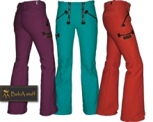 Coloured guild trousers ply-yarn double pilot - Ladies  without flare