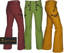 Coloured guild trousers ply-yarn double pilot - Men