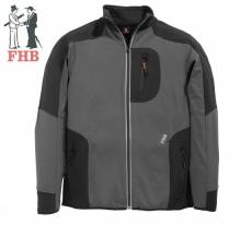 Jersey-Fleece Jacke FHB fastdry