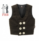 Kids guild vest Needlecord
