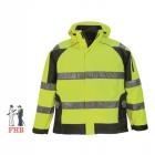 Warnschutz-Softshell-Jacke