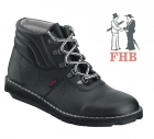 Roofer boots laces with lambskin