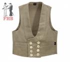Guild vest Genua corduroy
